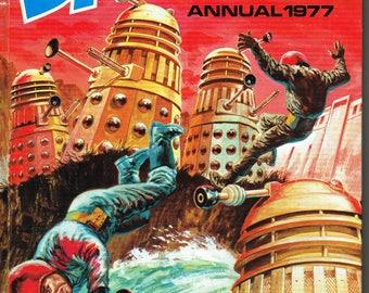 Dalek Annual 1977 - Hard cover book