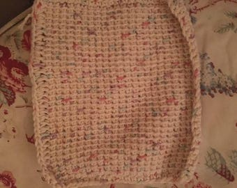 100% Cotton scrubby dish cloth