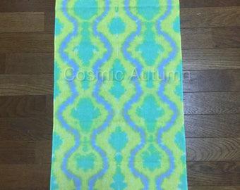 Tie Dye Sarashi Tenugui- Bandana- wall art- tablecloth- and more!