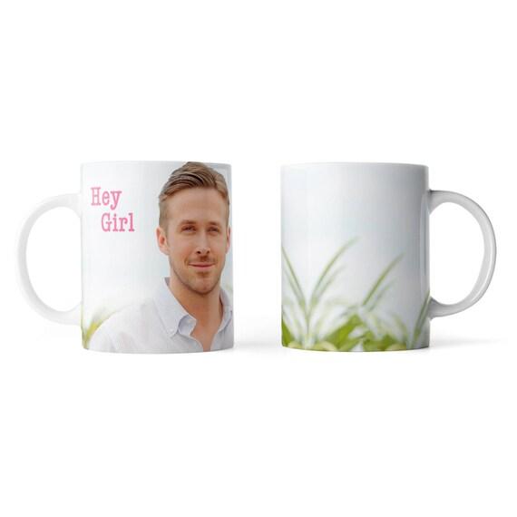 Ryan Gosling custom name mug - Funny mug - Rude mug - Mug cup 4P039