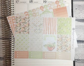 Spring - MINI Weekly Sticker Kit, for use with EC LIFEPLANNER™