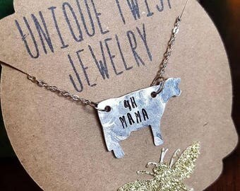4H Cow Mama Necklace