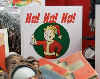 Merry PipMas  - Christmas card - pipboy - fallout - xmas - scifi - gamer - geek - nerd - ps4 - xbox - pc - computer game