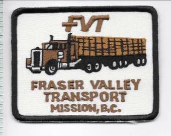 Vintage Trucking & Van Lines Canada Fraser Valley Transport Ltd Mission, BC