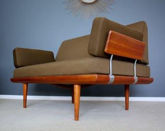 SOLD: Danish Modern Peter Hvidt Minerva Sofa Mid Century Retro Vintage 50s 60s 70s