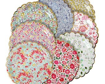 Meri Meri: Liberty Assorted Large Plates