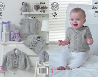 Cardigans & Sweaters Knitting Pattern