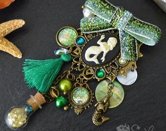 Sirena Green - Brooch •( SIRENA )•