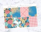 PRE-SALE! Alice Plain Full Box Add On (Glam Planner Stickers for Erin Condren Life Planner)