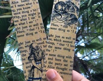 Bookmark Alice in Wonderland