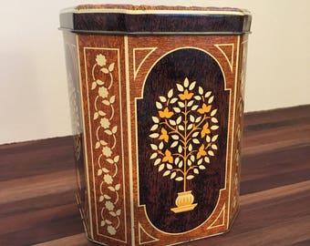 English Decorative Tin