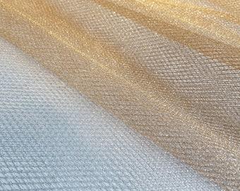 Metallic Mesh or Net in Gold or Silver