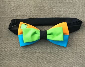 Disney Inspired Goofy Adjustable Bow Tie