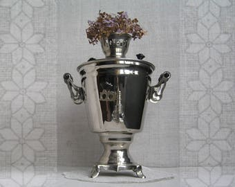 Soviet SAMOVAR,  Vintage Water Heater, Vintage Samovar,  Tea Samovar, Russian Samovar,  Electric Tea Pot, Retro Samovar, Large Samovar