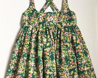 Easter Dress, Spring Dress, pinafore dress, pinafore, pinafores, floral dress, spring dress, Sunday dress, suspender dress, spring skirt
