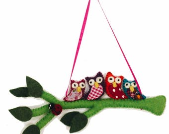 Bright OwlS oN A BRANCH - BRIGHT -