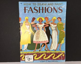 Walter Foster Art Book, How to Draw and Paint Fashions by Viola French