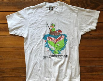 Vintage Mr. Fisherman Tee