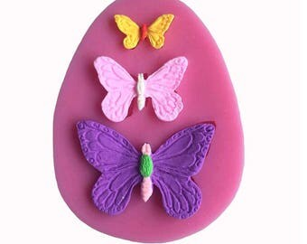 Butterflies Silicone Mold Set