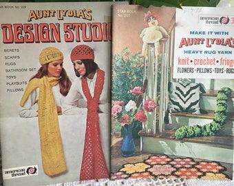 VINTage Crochet patterns women 1970s