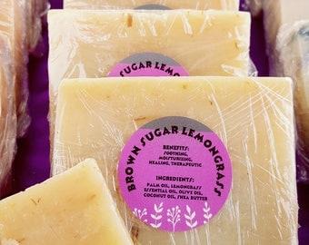 Brown Sugar and Lemongrass Soap
