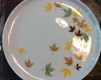 Vintage Franciscan Indian Summer Dinner plates, 4, made 1958-1969
