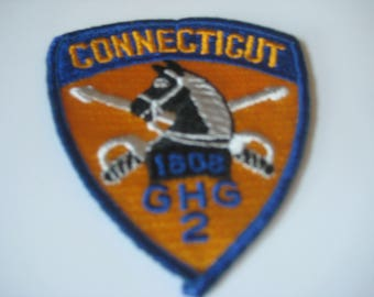 Governor's Horse Guard Connecticut 2nd Company Patch.