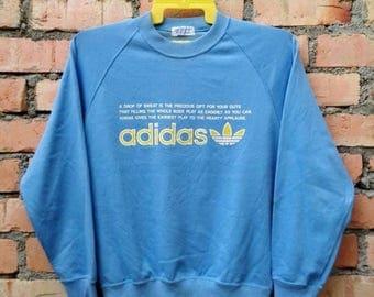 OFF 15% Rare!!! Adidas  Trefoil Pullover Sweatshirt
