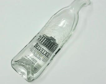 Slumped Vodka Bottle