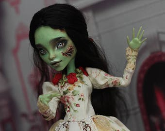 OOAK  Monster High doll zombie