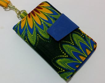 Ankara wallet / Cellphone wallet /Clutch / Capri Petura