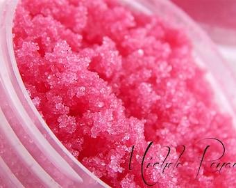 Strawberry Exfoliating Lip Scrub Sugar Scrub