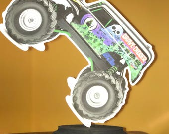 Monster Jam Centerpiece