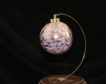 Sponged Gold Ornament