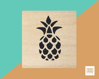 Pineapple - 1.5cm Rubber Stamp (DODRS0210)