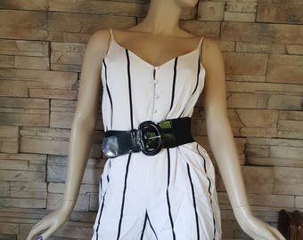Silk jumpsuit,shorts rompers ,summer overall ,beach jumpsuit,silk overalls,striped silk jumpsuit,,goth romper