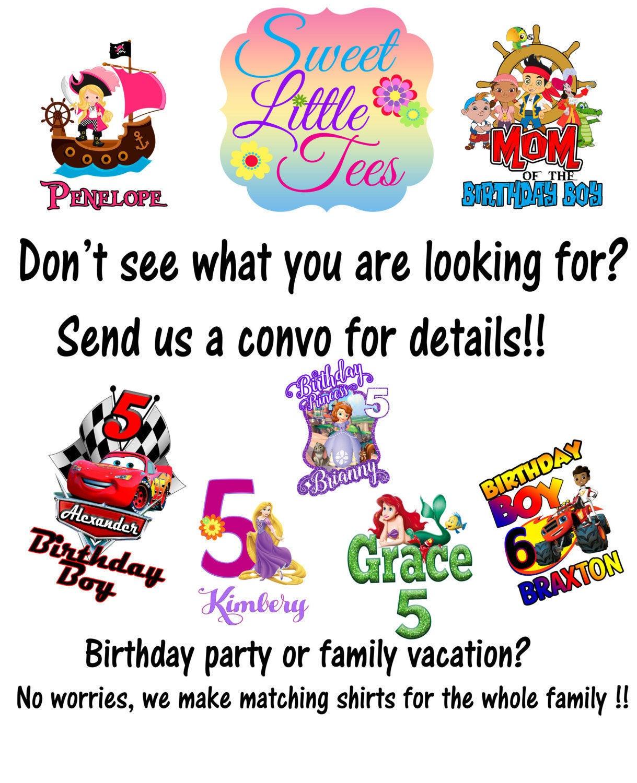 15 Off Disney Cars Birthday Shirt