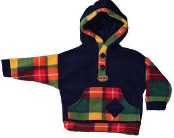Kids Tartan fleece