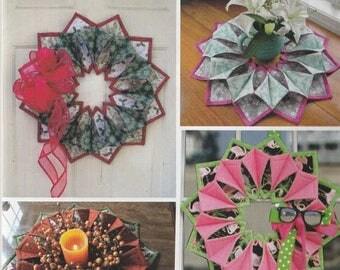 SALE** SALE! Fold n Stitch - Table Toppers Pattern - by Kristine Poor