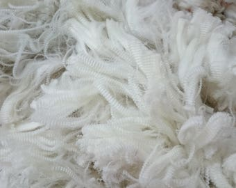 16.3 Micron White Superfine Merino Fleece, Raw Fleece, Australian Merino, Raw Wool, Wool, Natural Colour, Unprocessed, Quarter Fleece