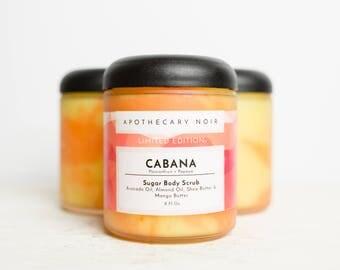 Cabana - Sugar Body Scrub - Passionfruit + Papaya