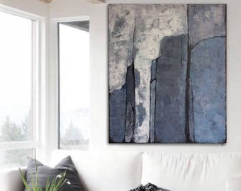 Abstract Art Large  Painting Original Wall Art Canvas Living Room Abstract Art Texture Painting Acrylic Artwork Large Abstract Painting