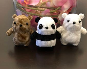 Crochet We Bare Bears
