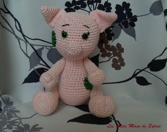 Max the pig to the small can crochet