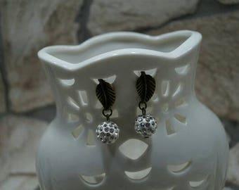 "Earrings ""shiny appearance"""
