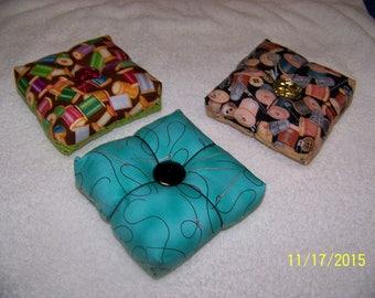3 pin cushions 5 dollars each