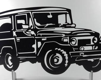 toyota BJ 40 metal sign decorative plaque