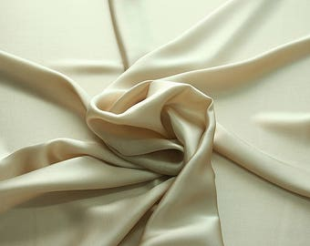 812012-Natural silk crepe Satin 100%, width 135/140 cm, made in Italy, dry cleaning, weight 98 gr