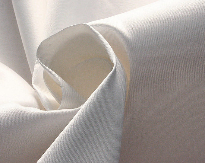 272002-natural Silk Mikado 100%, width 135/140 cm, made in Italy, dry cleaning, weight 190 gr