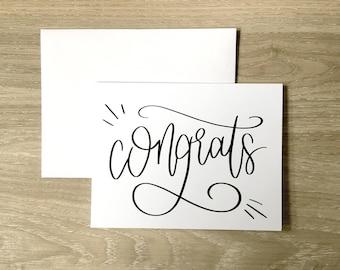 Congratulations Card   Greeting Card   Engagement Card     Wedding Congratulations Card   A2 Card   Graduation Card   Celebration Card